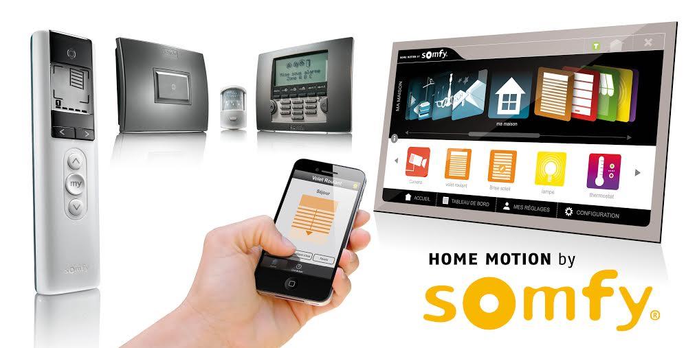 Somfy Connexoon box okos ház rendszer